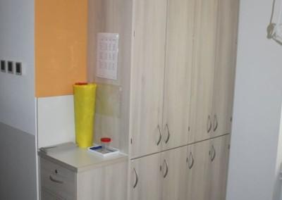 Einbauschränke für Arztpraxis