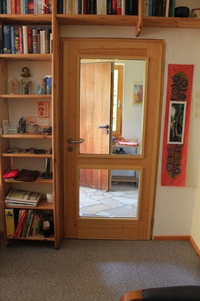 Zimmertüre im Naturhoilzstil von der Tischlerei Richardt