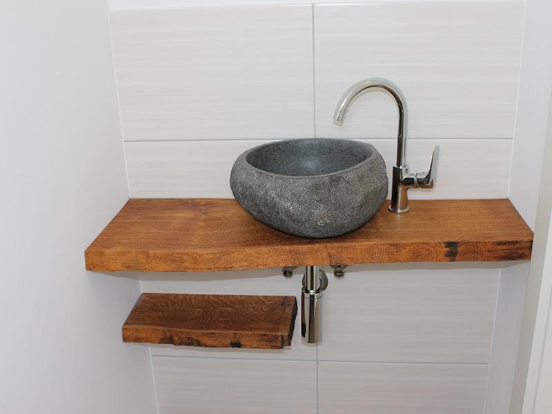 Design Waschtisch aus Eiche